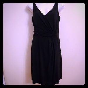 NWT Ann Taylor Sz8 Flattering Black Tank Dress